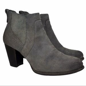 UGG Cobie II Suede Ankle Boots Nightfall Gray